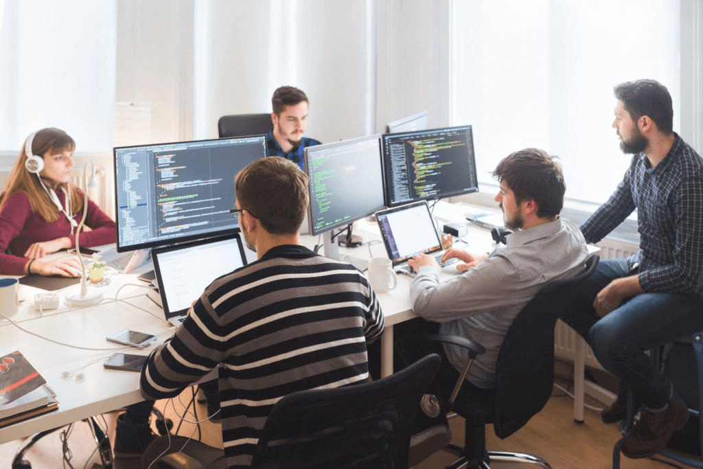 Professional teams of developers from Ukraine