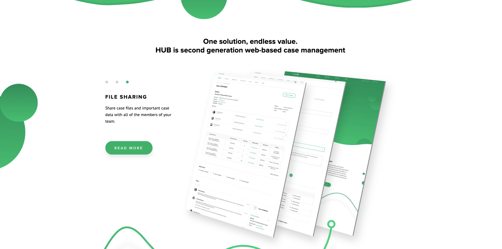 How We Built a Dedicated Software Development Team for Healthcare Startup screen 2