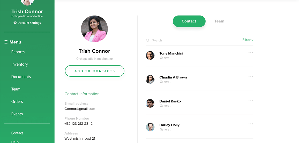 How We Built a Dedicated Software Development Team for Healthcare Startup screen 3