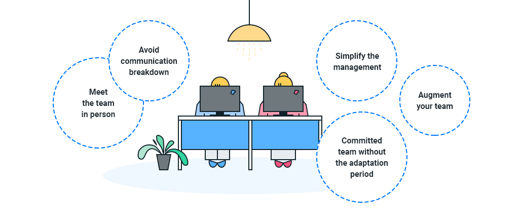 reasons to build your team through nearshoring